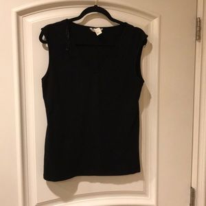H&M Basic V-neck sleeveless top size L
